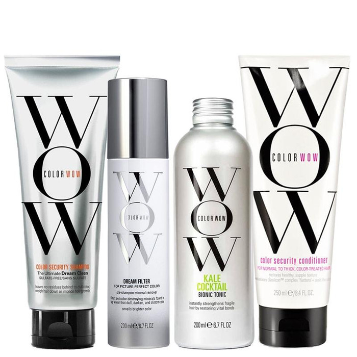 Color WOW Dream Clean Regime - Hair With Breakage