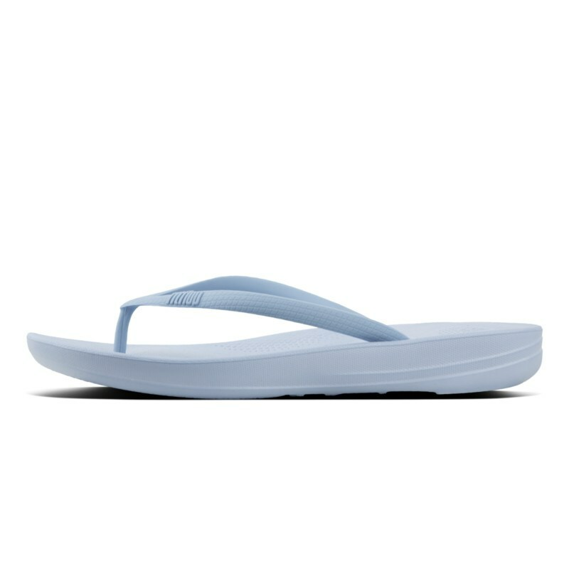 c1d081c29 FitFlop™ iQUSHION™ Pearlised Ergonomic Flip-Flops Blue