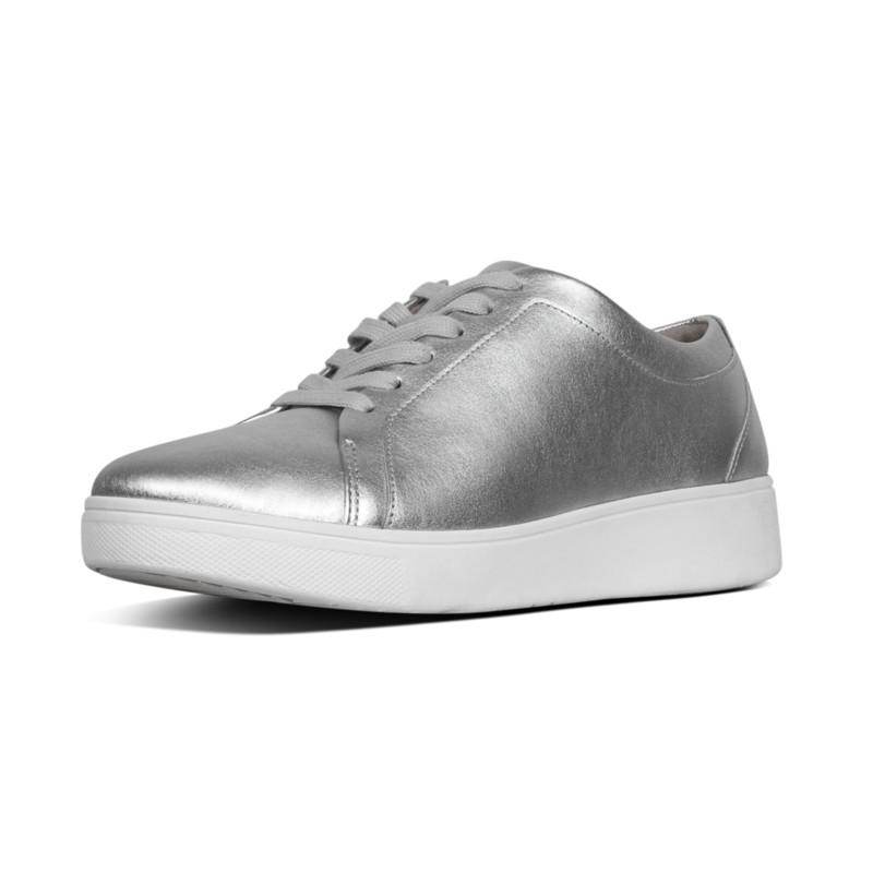 75ab58783e2e7d FitFlop™ Rally Sneaker - Silver