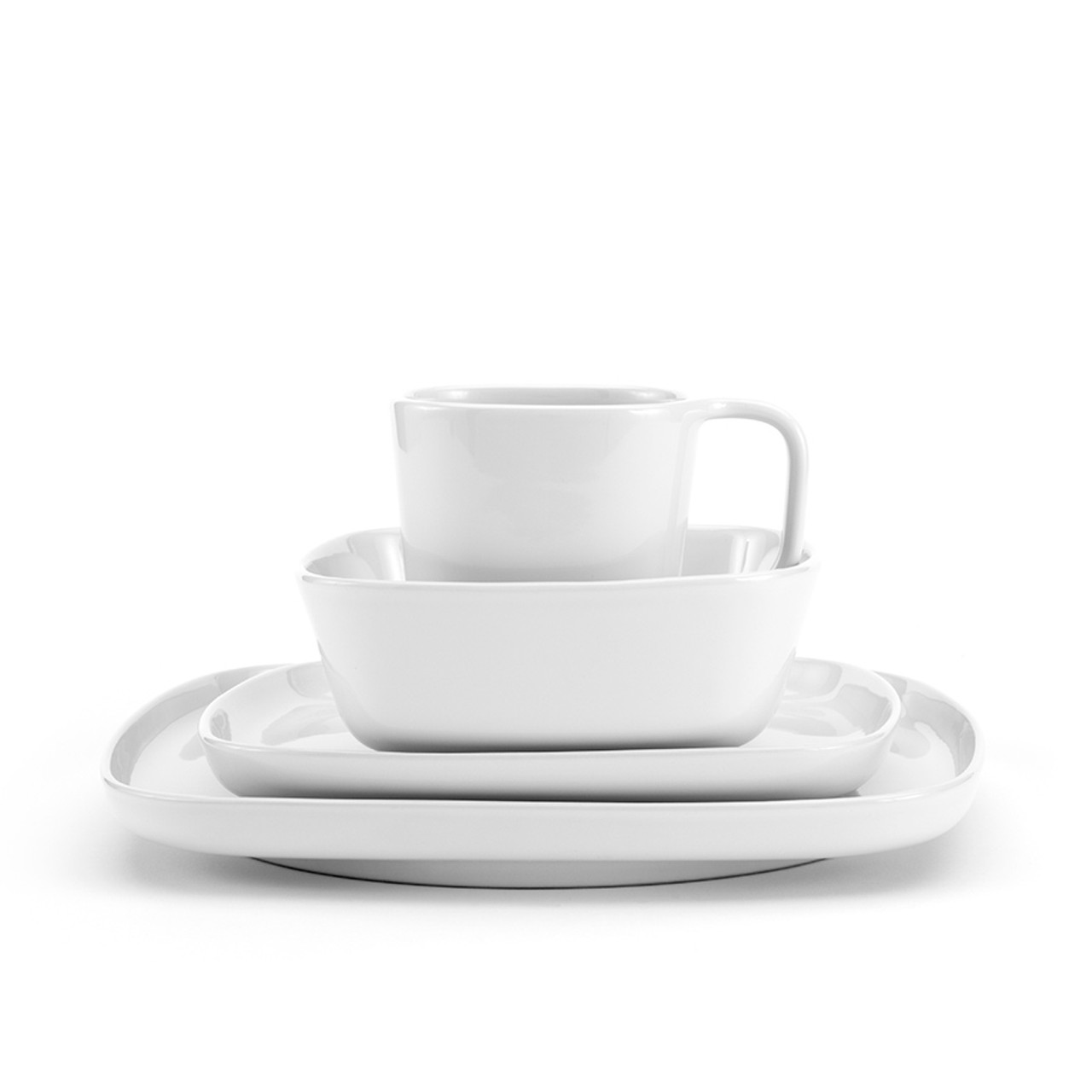 Karo - White Dinnerware 16 piece set