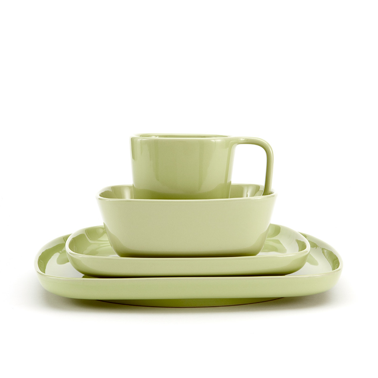 Karo - Light Green Dinnerware set 16pc