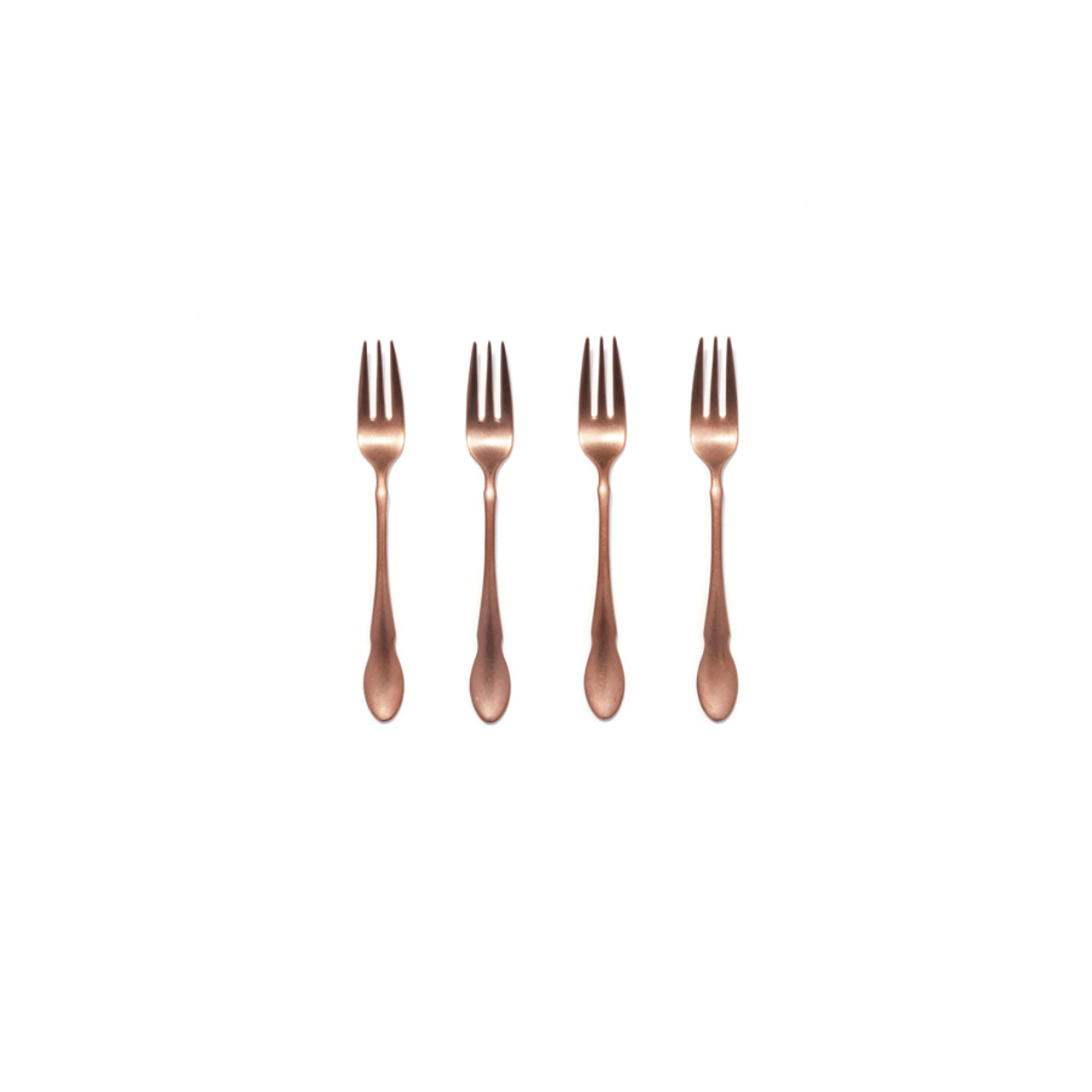 Maple - 4 piece cocktail fork set