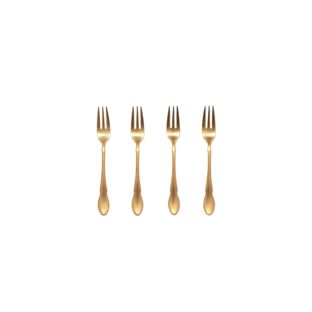 Birch - 4 piece cocktail fork set
