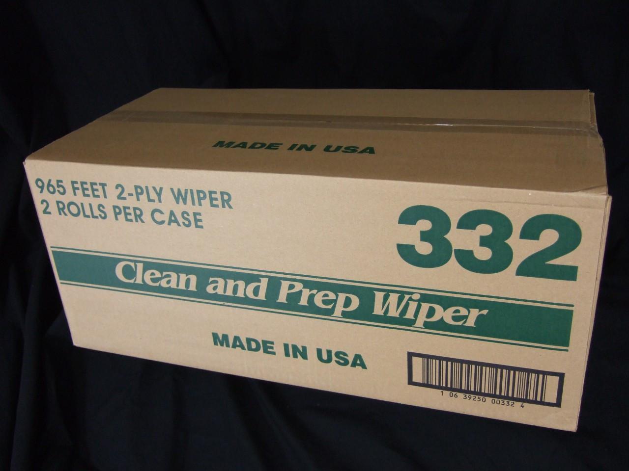 Clean & Prep Wipes 2/Rolls 332