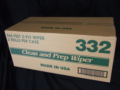 Clean & Prep Wipes - 2/cs - #332