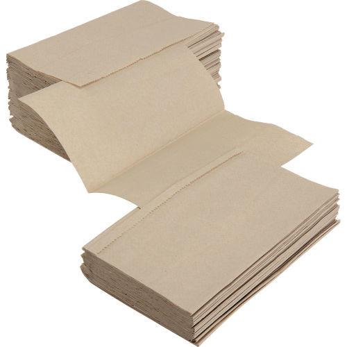 Natural Singlefold Hand Towels - 4000/cs - #183226