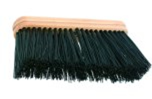 "9"" Stiff Upright Broom - HEAD ONLY - #109"