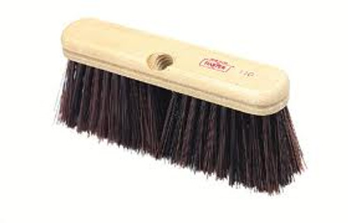 "9"" Fine/Medium 45°  Upright Broom - HEAD ONLY - #110"