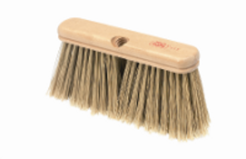 "9"" Fine  45°  Upright Broom - HEAD ONLY - #111"