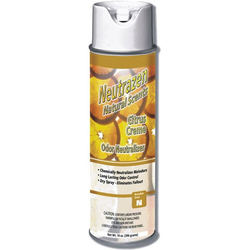 Neutrazen Citrus Creme Air Freshener 14oz - 12/cs - #Z491105