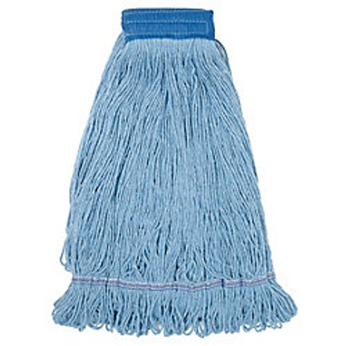 Blue Blended Loopend Mop Large Narrow Band - #P26313
