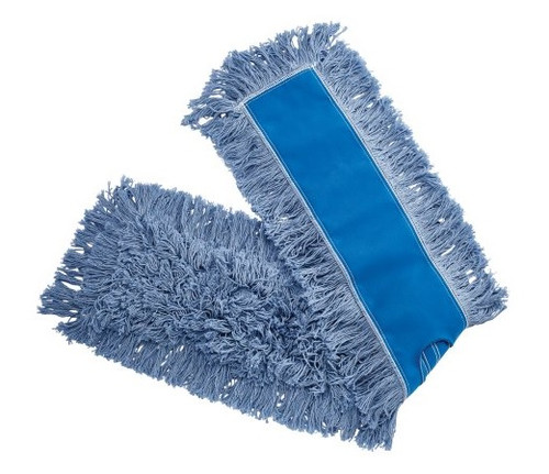 "5"" x 48"" Cotton Pro Plus Dust Mop - #HMSP485B"