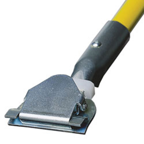 Quick Change Yellow Fiberglass Dust Mop Handle - #MBDM-60-FG