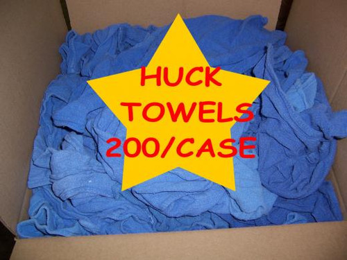 Blue Huck / Surgical Cleaning Towels - 25# Net Case - 200 Towels