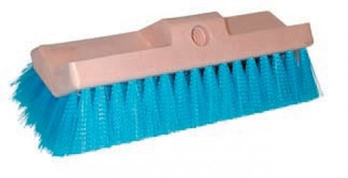 "10"" Blue Bi-Level Scrub Brush - #MB186"