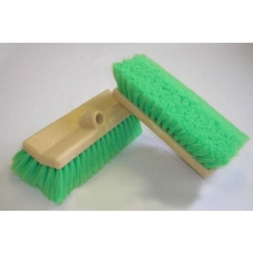 "10"" Green Bi-Level Wash Brush - #MB186-N"