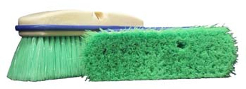 "10"" Green Flagged Nylon Wash Brush - #MB3033"