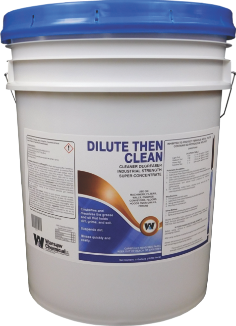 Dilute Then Clean (DTC) Degreaser Cleaner 5 Gallon