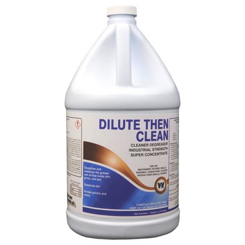 Dilute Then Clean (DTC) Degreaser Cleaner Gallon