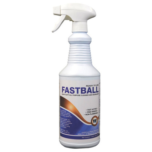 Fastball Cleaner / Degreaser RTU Quart 12/cs