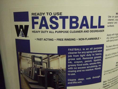 Warsaw Fastball Cleaner / Degreaser RTU 5 Gallon