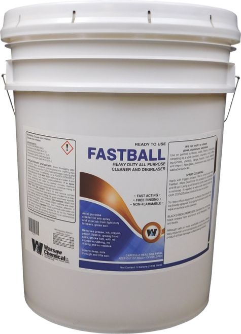 Fastball Cleaner / Degreaser RTU 5 Gallon