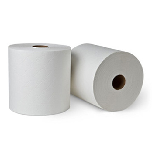 "8"" x 800' Premium White TAD Hardwound Roll Towels - 6/cs - #RT680011"