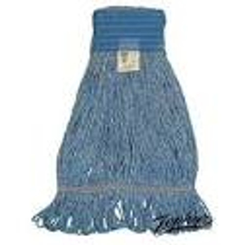 Blue Blended Loopend Mop Large Wide Band - #P28313