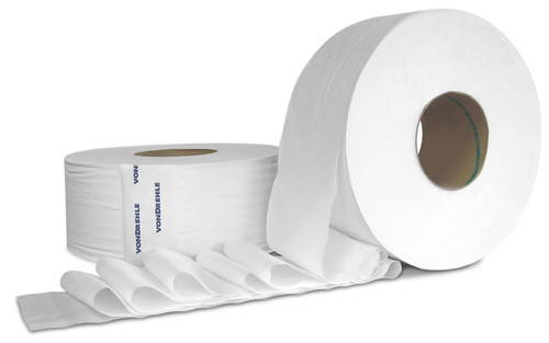 "2-Ply  9"" Bath Tissue 1000' - 12/cs - #1209"