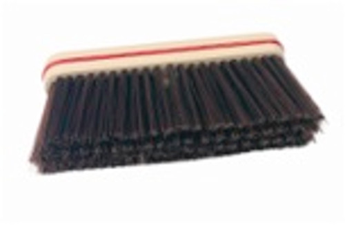 "12"" Upright Plastic Block Fine/Medium Combo Bristle Broom HEAD ONLY - #HB471012"