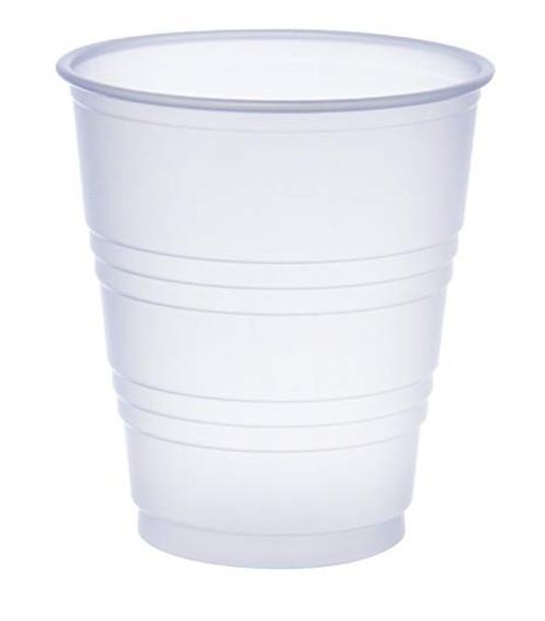 5oz Translucent Squat Cup - 2500/cs - #Y5