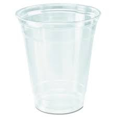 Clear 12oz PET Squat Cup - 1000/cs - #TP12