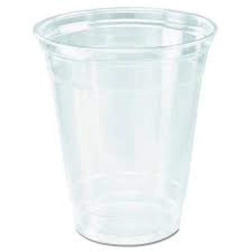 Clear 12oz PET Squat Cup - 1000/cs - #TP12