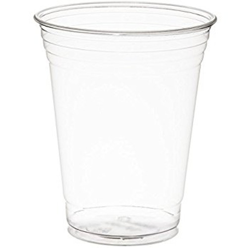 Clear 16oz PET Squat Cup - 1000/cs - #TP16D