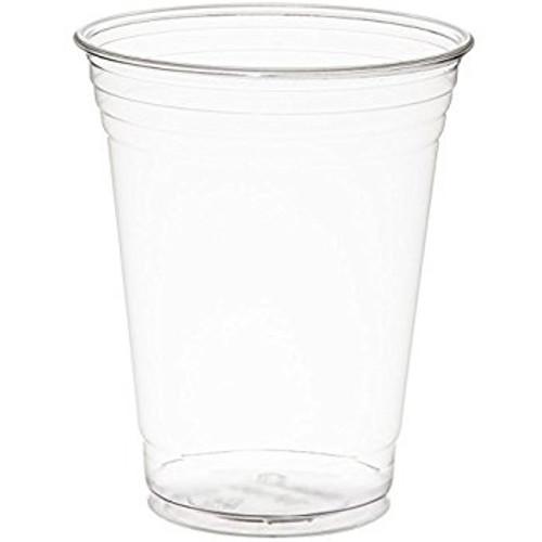 Clear 16oz PET Squat Cup - 1000/cs - #TP16D