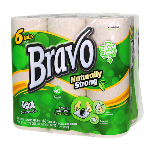 Bravo  Naturally Strong® Paper Towels 24/CS - #54486