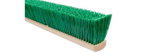 5524-FX Stiff Green Polypropylene Flex Sweep Broom Head