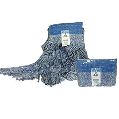 Blue Blended Loopend Mop Medium Narrow Band - #P26312