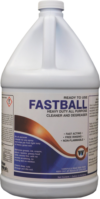 Fastball Cleaner / Degreaser RTU - 4 gallons/cs