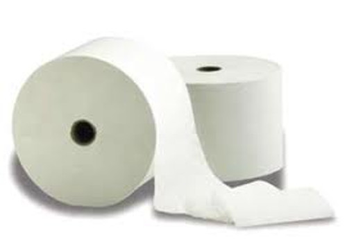 Porta-Roll 1-Ply Toilet Tissue 650' - 48/cs - #65048