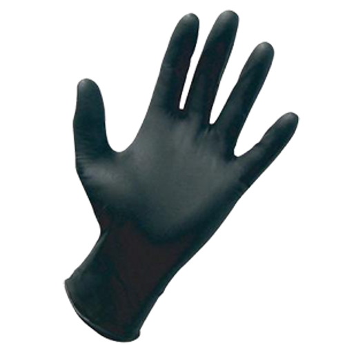 General Purpose Black 5 Mil Nitrile Premium Powder Free Gloves