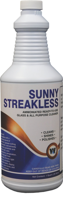 Sunny Ammoniated Glass Cleaner RTU Quart 12/cs