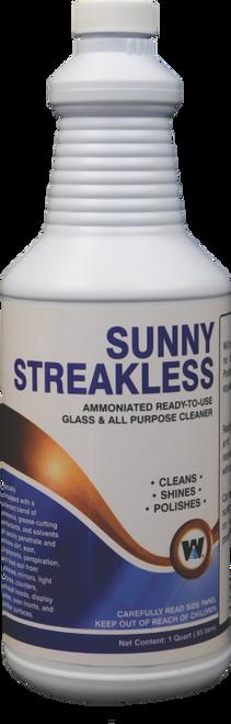 Sunny Ammoniated Glass Cleaner RTU Quart 12/cs