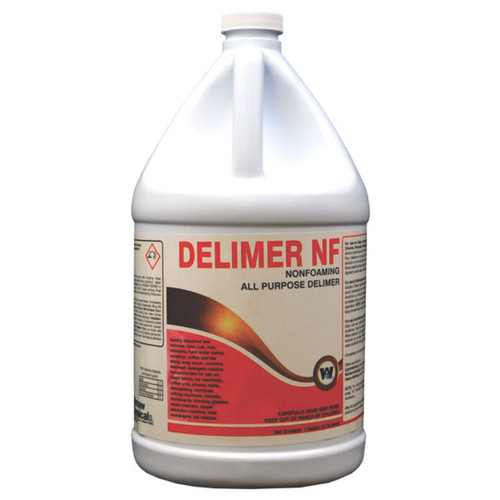Delimer Non-Foaming All Purpose Lime Remover Containing Phosphoric Acid - 4 gallons/cs