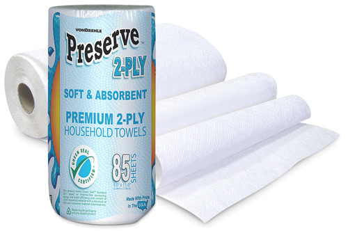 Preserve Household Kitchen Roll Towels - 30/cs - #4100