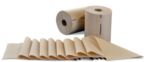 "8"" x 800' Natural  Hardwound Roll Towels - 6/cs - #880-N"