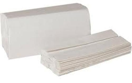 White C-Fold Paper Towels  200 per pack - 12pk/cs - #183223