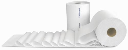 "8"" x 800' Preserve White Hardwound Roll Towels - 6/cs - #880-B"
