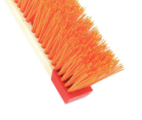"#96 Series 18"" Stiff COMPLETE Street Push Broom - 9618"