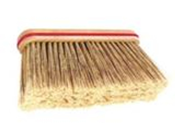 "12"" Upright Fine Bristle Broom - HEAD ONLY - #108-1"